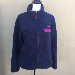 Columbia Fleece Jacket with pockets sz XL